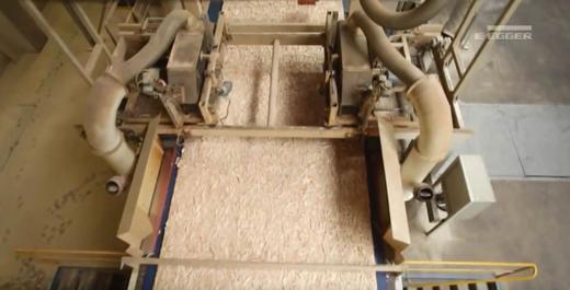 Производство плиты ОСП
