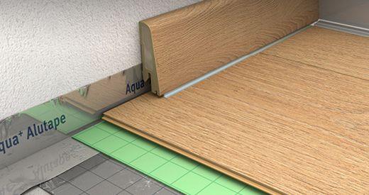 EGGER Fußboden-Zubehör für gelungenes Boden Legen