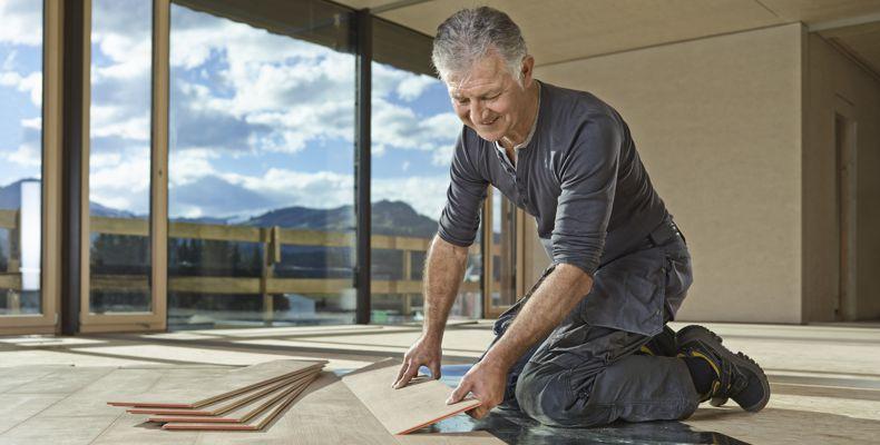 Fußbodenaufbau und viele weitere Services für den Profi