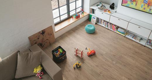 Ein Fußboden aus der PRO Kollektion ist das ideale Produkt für den Fußbodenprofi