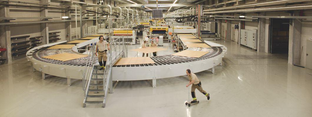 Строение напольных покрытий компании ЭГГЕР