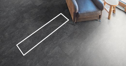 La solution pour une pose rapide: de grandes lames de sol