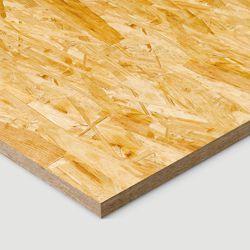 OSB boards straight edge