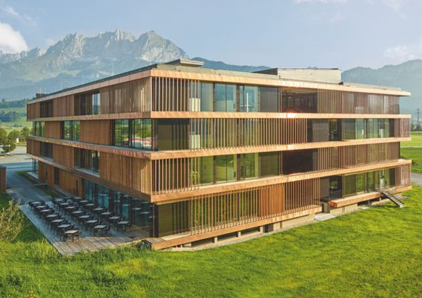 位于奥地利蒂罗尔州圣约翰的爱格总部