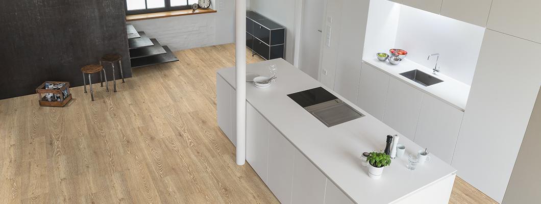 Las superficies auténticas aseguran un piso atractivo