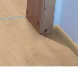Podlahové lišty jsou dokonalým zakončením podlahy u stěny