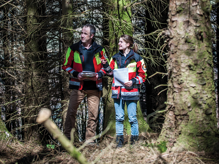 Woodlands for Water advisors – Dave Robson and Katherine Evans-Smith