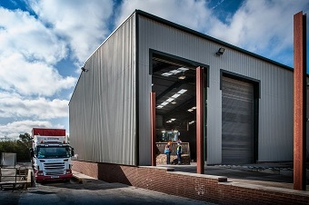 New Building Extension at Timberpak North East
