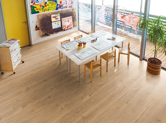 Healthy environment thanks to laminate flooring