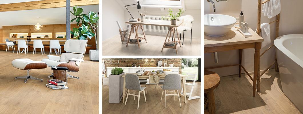 Máme k dispozici podlahy vhodné pro veškeré užitné třídy podlah