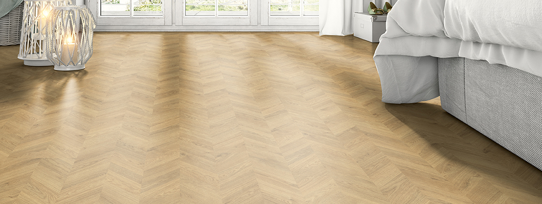 Flooring wood effects ensure a pleasant and cosy sense of space
