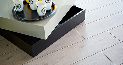 All-round bevels emphasise each individual board on flooring.