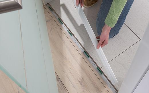 Flooring profiles are essential when installing flooring