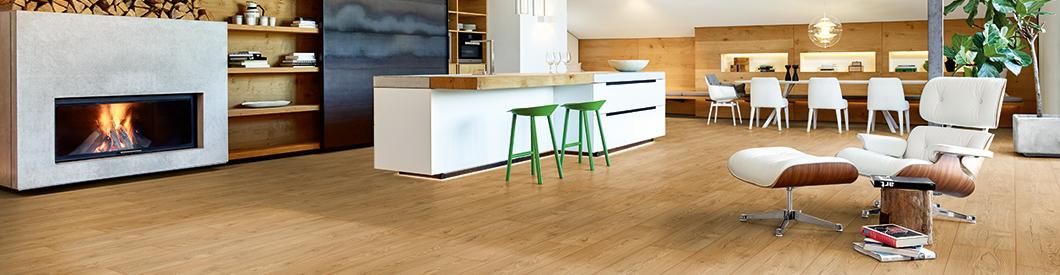 I rivestimenti per pavimenti EGGER sono adatti a tutte le aree di applicazione