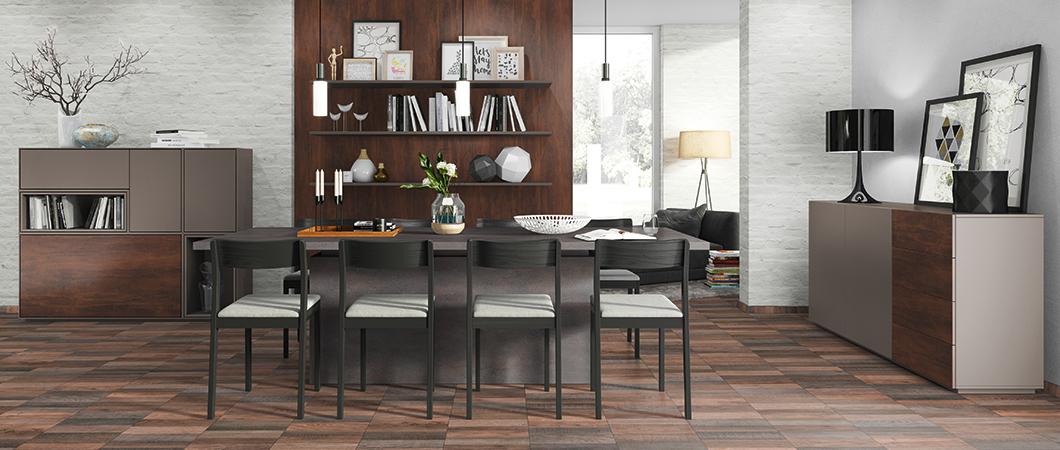 Le coloris taupe se marie très bien avec le F029 ST89 Granit Vercelli gris.