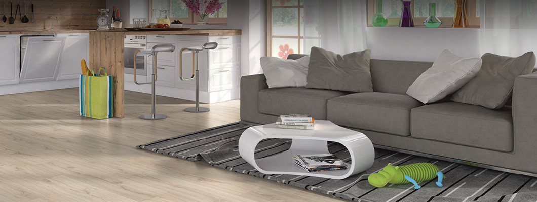 Opt for a living room Design floor with SelfRepair effect!
