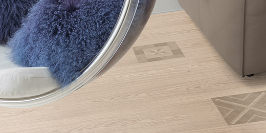 All flooring colours for the Light Living furnishing style