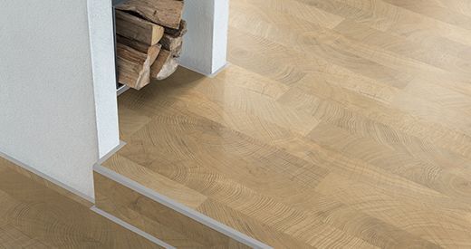 Flooring composition of the EGGER floor coverings in detail