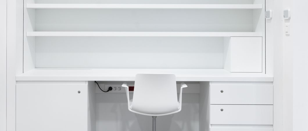 Where clarity is valued, the pure white W1001 laminate is the perfect choice.