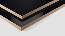High-gloss/matt lacquered boards