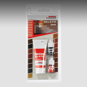 Remove scratches in the laminate with Decor Mix & Fill