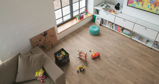 A floor from the PRO collection is the ideal product for the flooring professional.