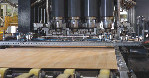 EGGER Flooring composition in detail