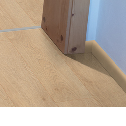 Skirting boards provide an attractive wall finish