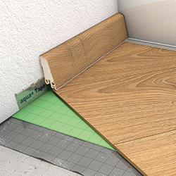 Unterlagsmatten sorgen für eine gute Fußboden Trittschalldämmung