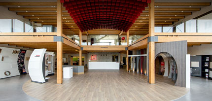 Douaihy opens timber frame showroom, Zouk Mikael (LB)