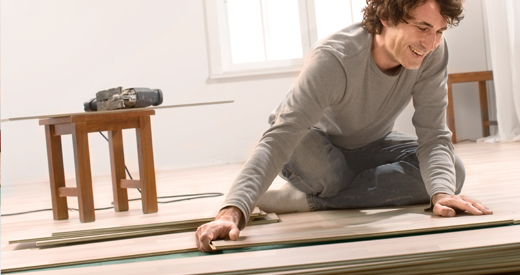 Installing flooring - quickly explained in our installation videos