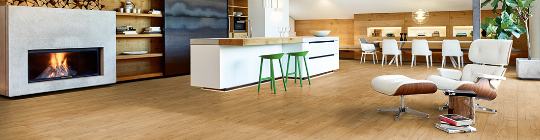 EGGER floor coverings suit all application areas