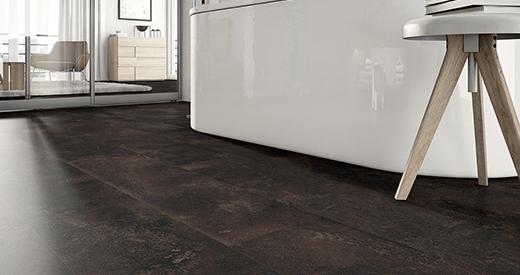 Mineral nadaje powierzchni podłogi matowy wygląd
