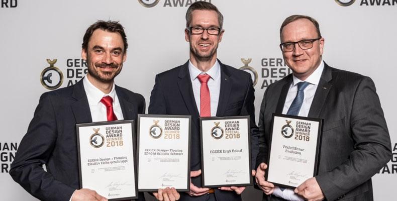 EGGER premiato dalla giuria di esperti