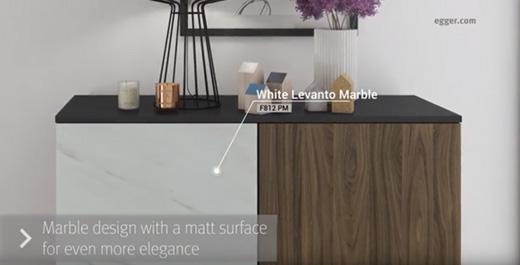 Matt marble and furniture