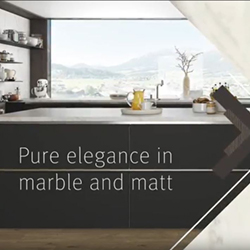 Elegance in marble and matt