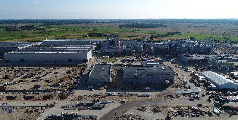 Inwestycja zakładu produkcji płyt wiórowych w Biskupcu
