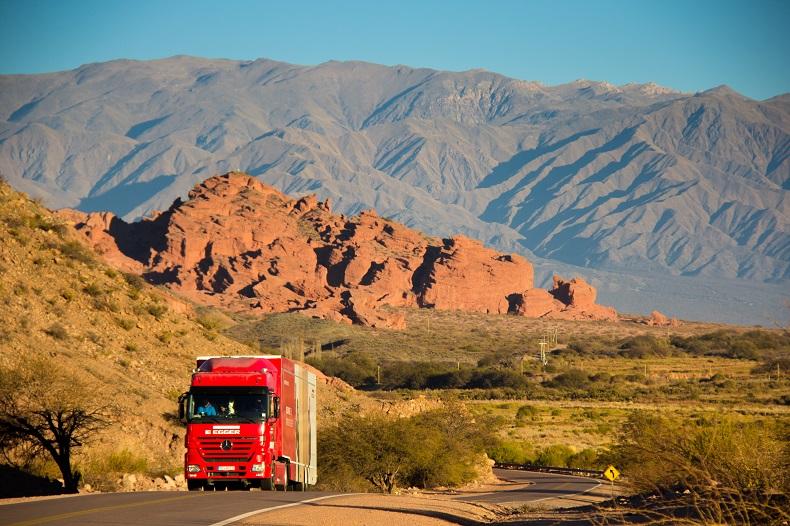 Gira EGGER Truck Argentina