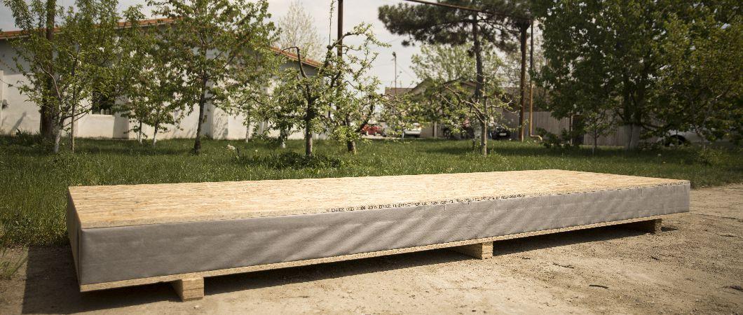 Placa OSB – folosită pentru pereții timberframe și pentru planșee