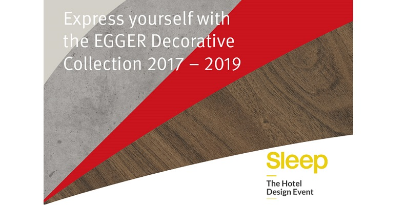 Express yourself with the EGGER Decorative Collection 2017-2019