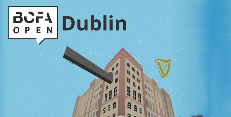 Join EGGER at the first BCFA Open Dublin