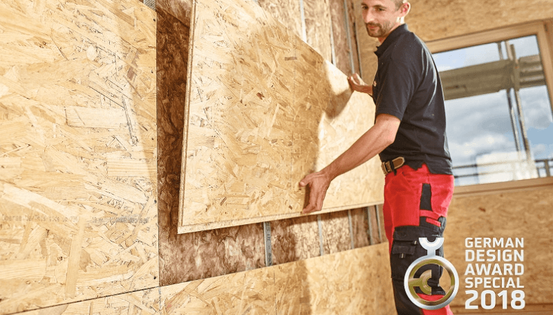 The EGGER Ergo Board was developed especially for drywall constructions and interiors.