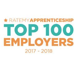 Ratemy Apprenticeship Top 100 Employers