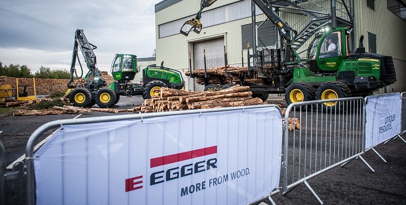 Forestry Machinery at the Hexham Open Day