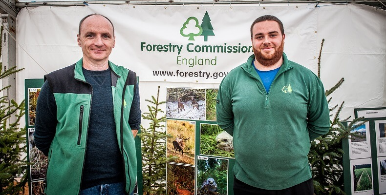 Members of the Forestry Commission England