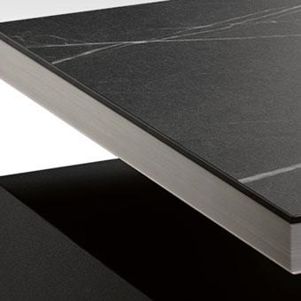 High gloss and matt surfaces