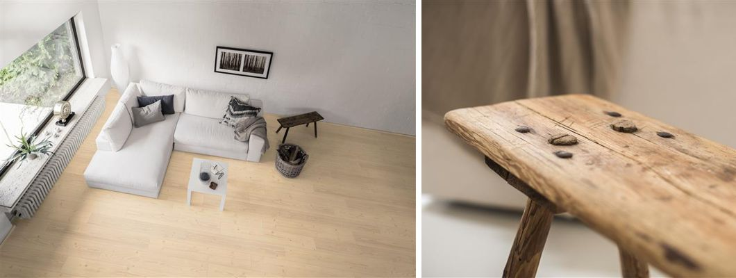Dizajn poda koji u prostoriju unosi prirodnost