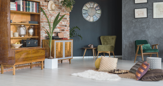 Keep up to date with new flooring trends, fashionable flooring colours or new products