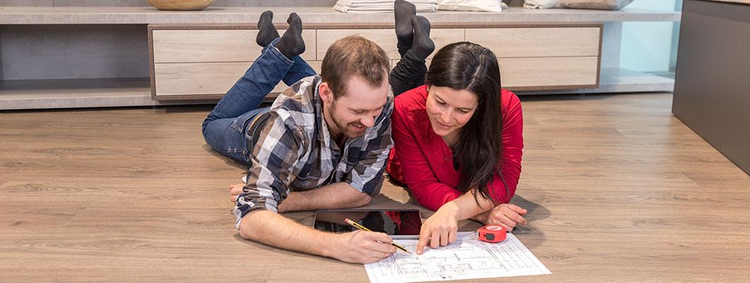 Za polaganje podov je načrtovanje pomembno