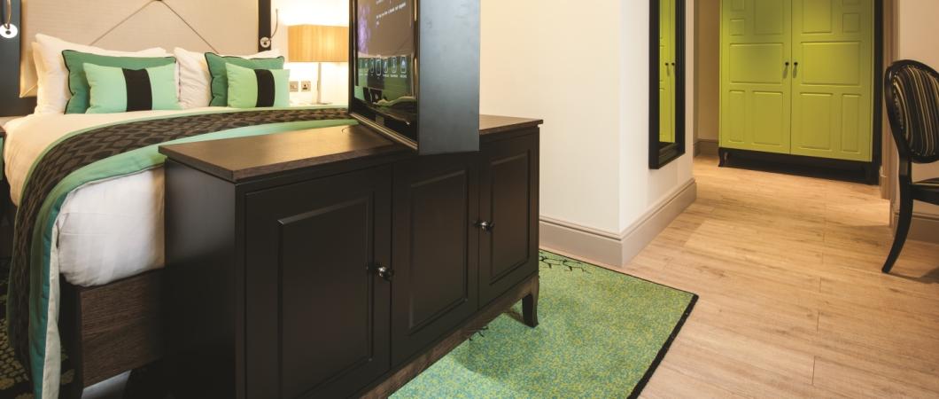 A laminált padló ideális megoldás a hotelekben